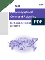 Yam Aha Command Ref