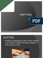 Knitting by Samir