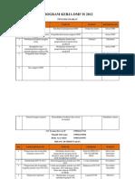 Program Kerja Dmf is 2012