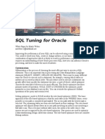 SQL Tuning for Oracle