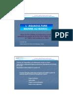 Aquaculture Marine Au Maroc