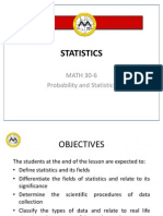 L1 Statistics