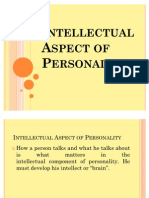 Intellectual Aspect of Personality