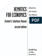 55731776 Solutions Manual for Mathematics for Economics Hoy