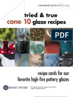 15 Cone 10 Recipes