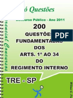 1753_APOSTILA AMOSTRA DOS ART. 1º AO 34 DO REG. INT. TRE-SP