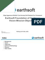 Earthsoft Roadmap Vision Mission ObjectiveV1 2