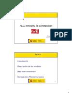Plan de automoción español 2009 (Es) / Spanish automotion plan 2009 (Spanish) / Espainiako 2009ko automozio plana (Es)