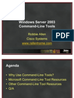 RAllen Windows Server 2003 Command-Line Tools