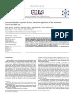 Curcumin Inhibits Hepatitis B Virus via Down-regulation of the Metabolic
