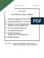 Asset Allocation Framework