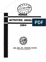 Africa Rice Activities Highlights 1984