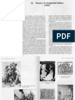 Warburg, A., Durero y La Antiguedad Italiana, 1905