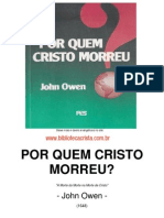Por Quem Cristo Morreu - John Owen