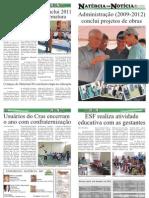 8ª EDIÇÃO - JORNAL NATÉRCIA EM NOTÍCIA - DEZEMBRO DE 2011