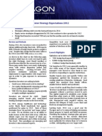 Decagon Investor Strategy Expectations 2012