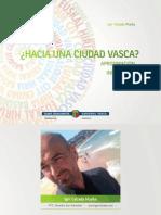 Libro Dr. Igor Calzada, Ph.D. Hacia una Ciudad Vasca Aproximación desde la Innovación Social