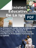 Ministerio Educativo de La Iglesia 2011