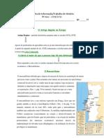 Ficha de Trabalho-Informativa Mercantilismo