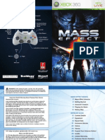Mass Effect Xbox Manual