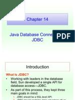Lecture 14 Java Database Connectivity-JDBC