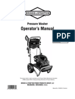 Gas Pressure Washer Operator's Manual