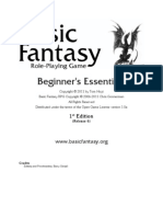 Basic Fantasy Role-Playing Game Beginners