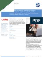 Coles Case Study