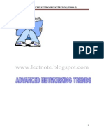 Advanced Networking Trends