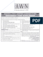 Endowment Fund Scholarship