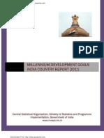 Millennium Development Goals India Country Report 2011