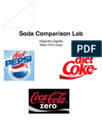 Soda Comparison Lab1