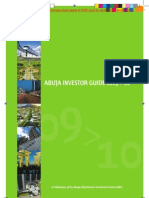 Abuja Investor Guide 2009-10, Part 1 of 4