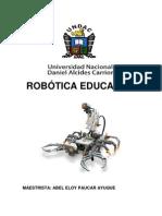 Robotica Educativa Abel PDF