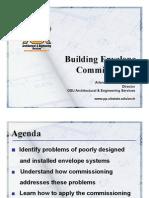 Envelope Commissioning Presentation 5 25 09