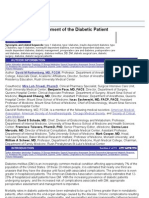 Perioperative Management of the Diabetic Patient