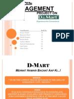 D-Mart TSCM Final Project