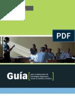 GUIA ELABORACIÓN DE ESTRATEGIAS REGIONALES DE CC