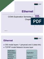 CCNA1 Chap 9 Ethernet