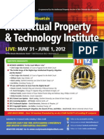 10th Annual Rocky Mountain Intellectual Property & Technology Institute