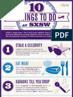 10 Things To Do at SXSW - Edelman Digital