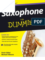 72698450 Saxophone for Dummies