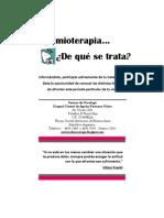 Guía de Quimioterapia, Equipo de Psicooncología del Hospital General de Agudos P. Piñero