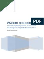 Revised Developer Tools Proposal