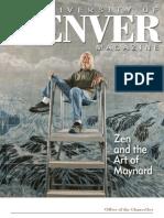 Spring 2012 University of Denver Magazine