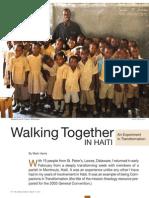 Walking Together in Haiti