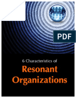 Six Characteristics of Resonant Organizations