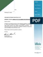 ITC 2011 CPNI Compliance Report