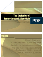 The Evolution of Promtions and Advertising Brands