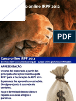 Curso online de IRPF 2012
